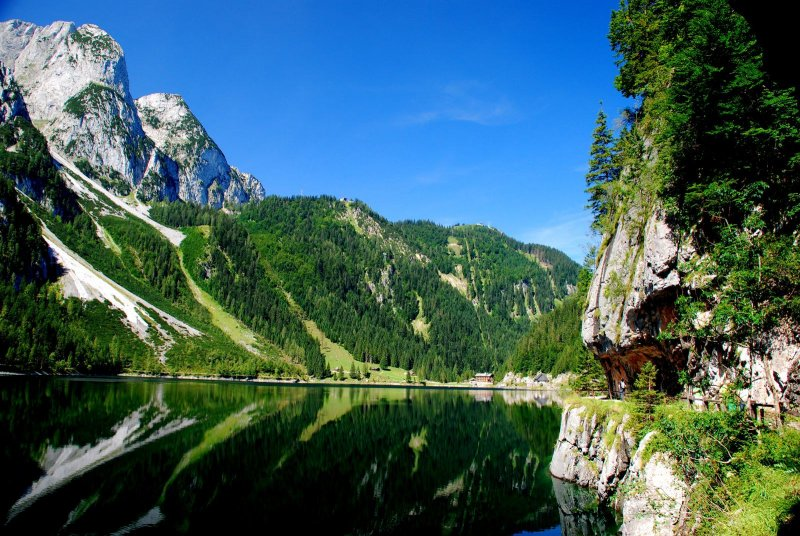 Laserer Alpin Klettersteig : Urlaub in gosau