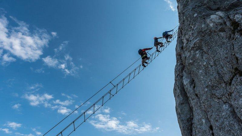Klettersteig Bad Ischl : Klettersteigtipp echernwand klettersteig d « alle topinfos auf