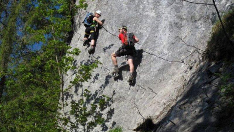 Klettersteig Gosau : Urlaub in gosau