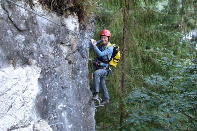 Klettersteig Urlaub : Urlaub in gosau