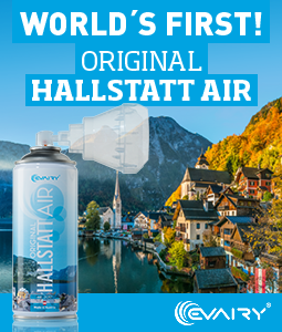 World's first original Hallstatt air